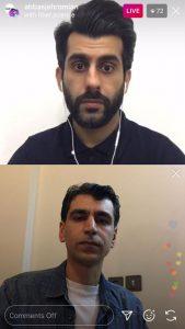 گفتگوی زنده با مسعود طالاری در رابطه با نقش پارچه در سبک پوشش